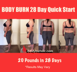 Body Burn Before and After